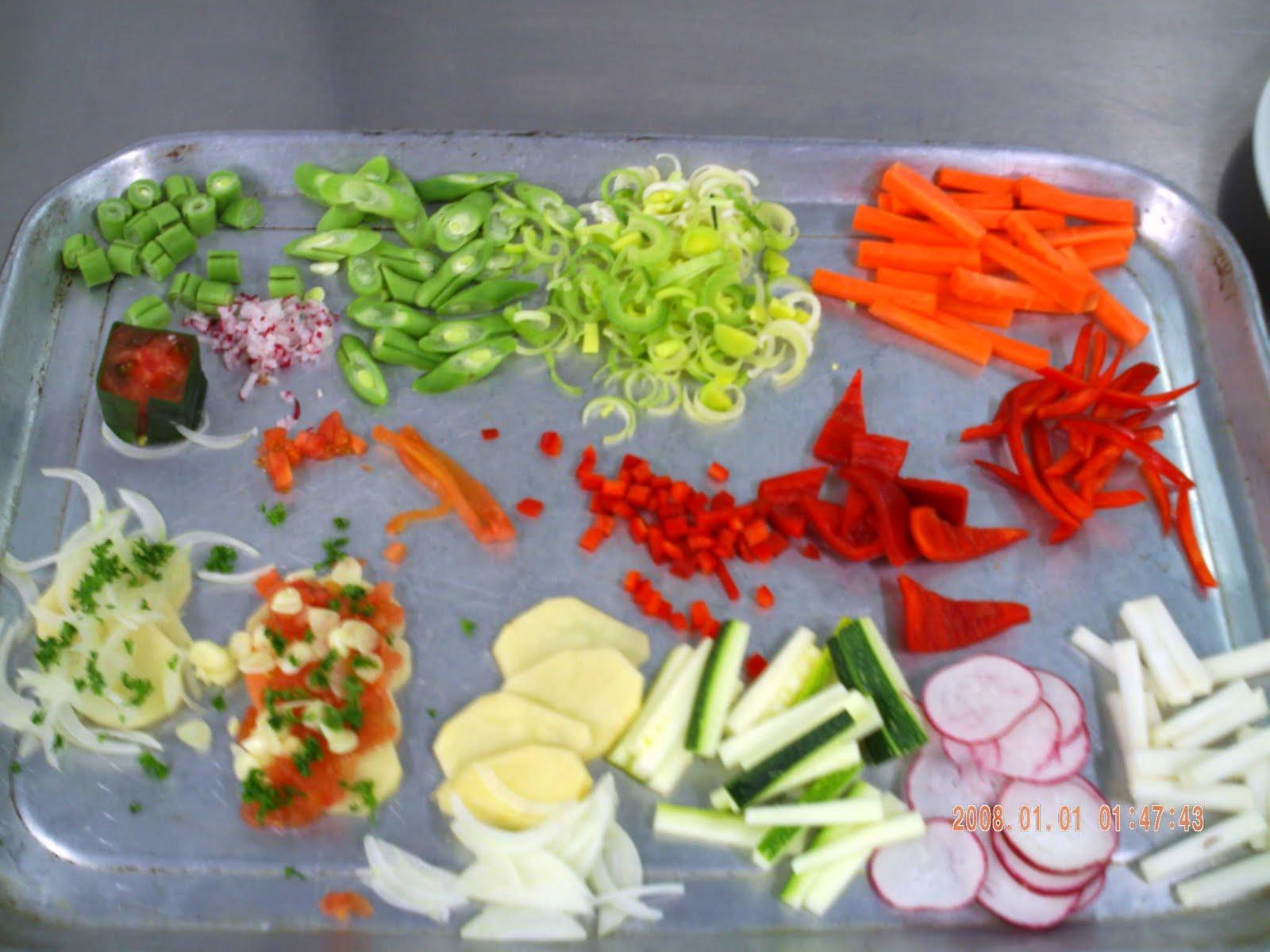 Tipos de cortes usados en la cocina cogito ergo scribere for Cortes de verduras gastronomia pdf